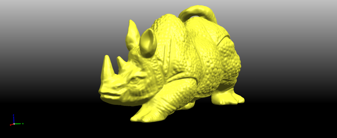 Rhinoceros 01Male 3D Print 197078