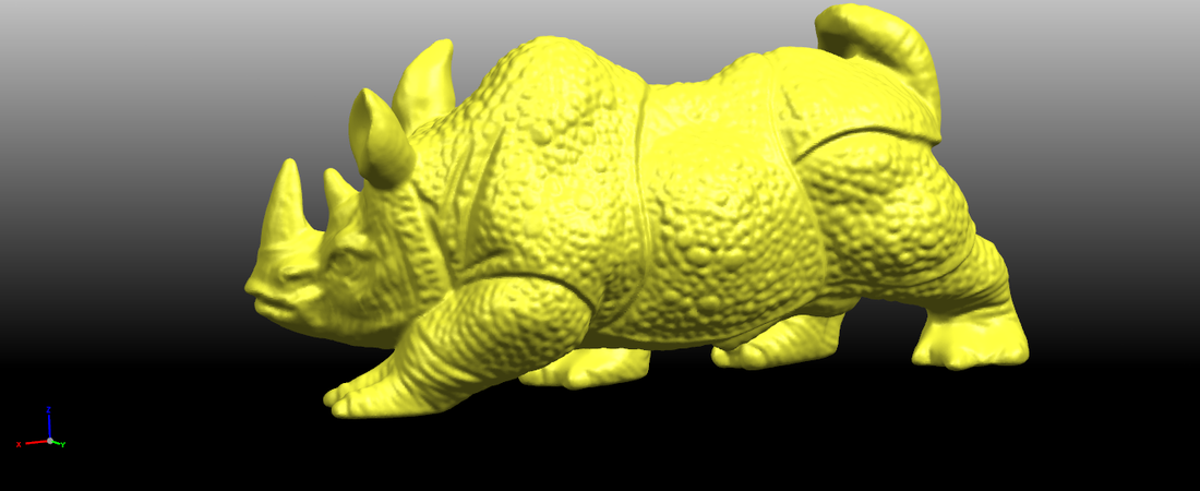 Rhinoceros 01Male 3D Print 197079