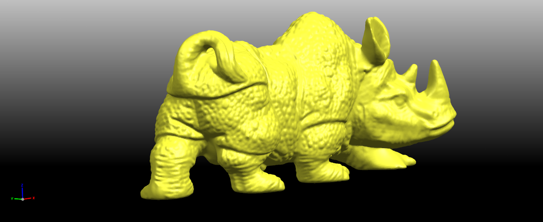 Rhinoceros 01Male 3D Print 197083