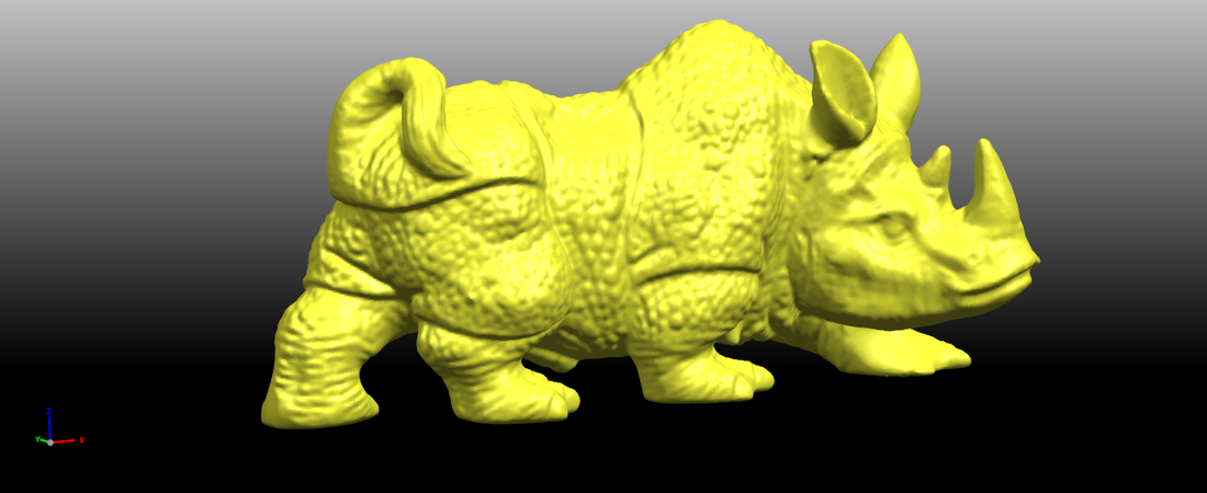 Rhinoceros 01Male 3D Print 197084