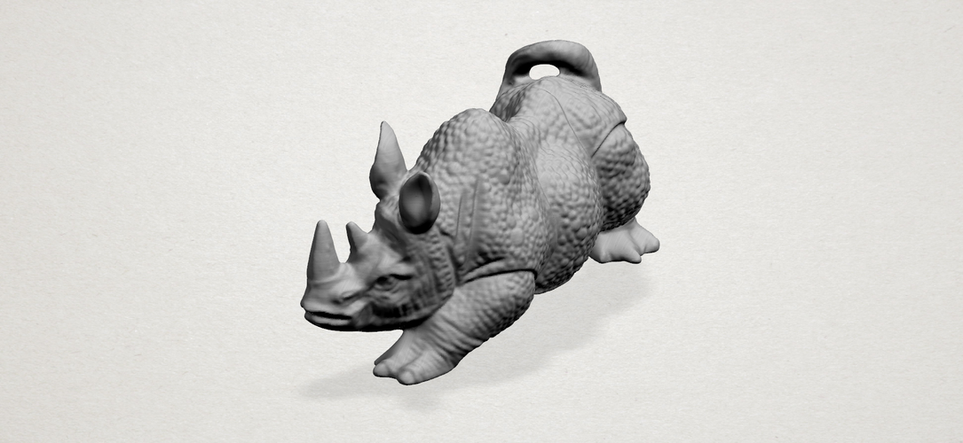 Rhinoceros 01Male 3D Print 197095