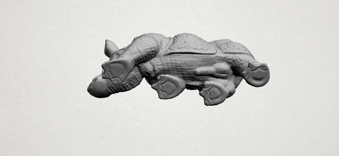 Rhinoceros 01Male 3D Print 197098