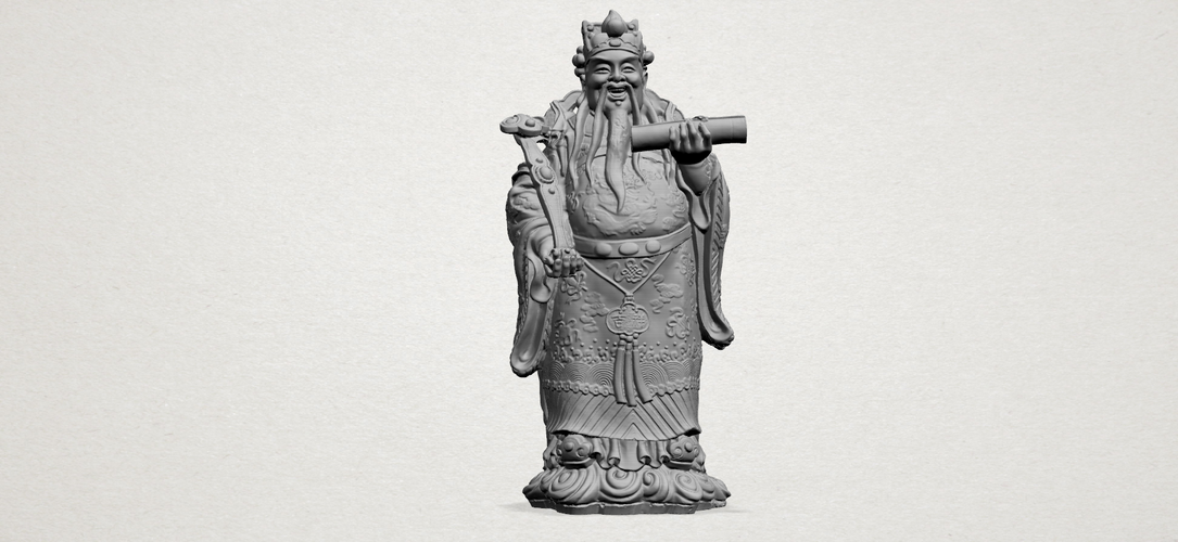 God of Treasure 01 3D Print 197138
