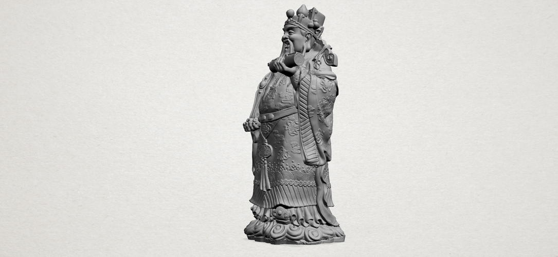 God of Treasure 01 3D Print 197139