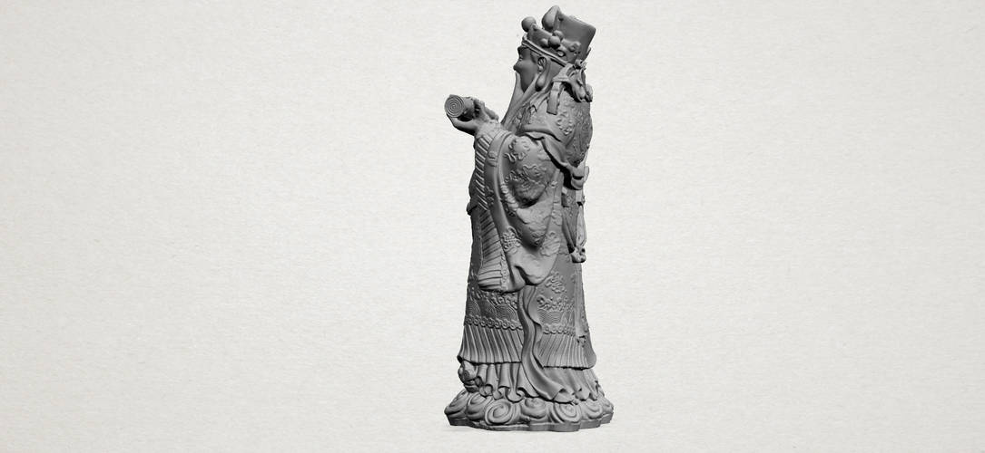 God of Treasure 01 3D Print 197140