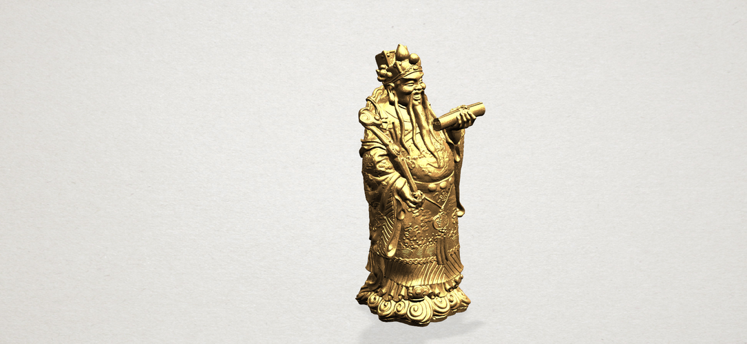 God of Treasure 01 3D Print 197155