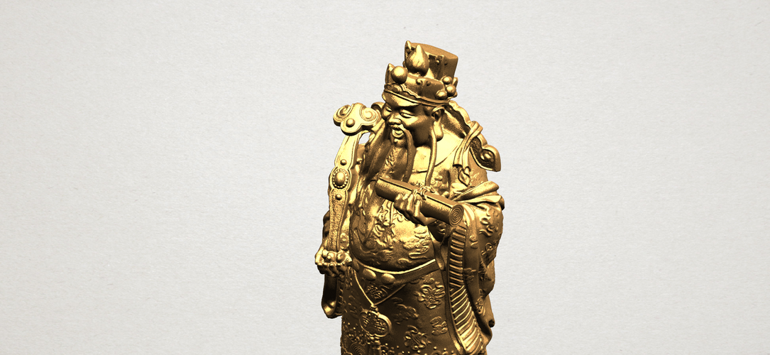God of Treasure 01 3D Print 197156