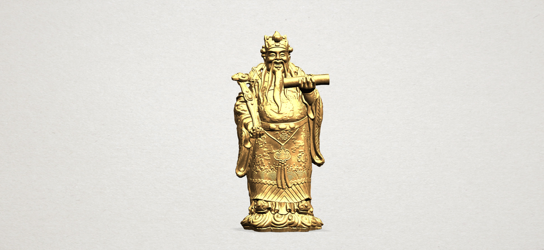 God of Treasure 01 3D Print 197159