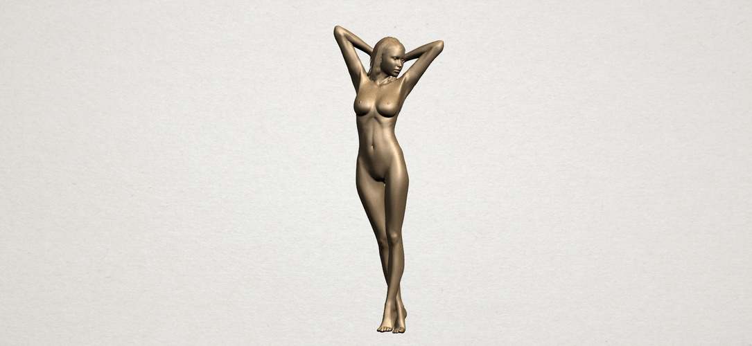 Naked Girl - Full Body 01 3D Print 197263