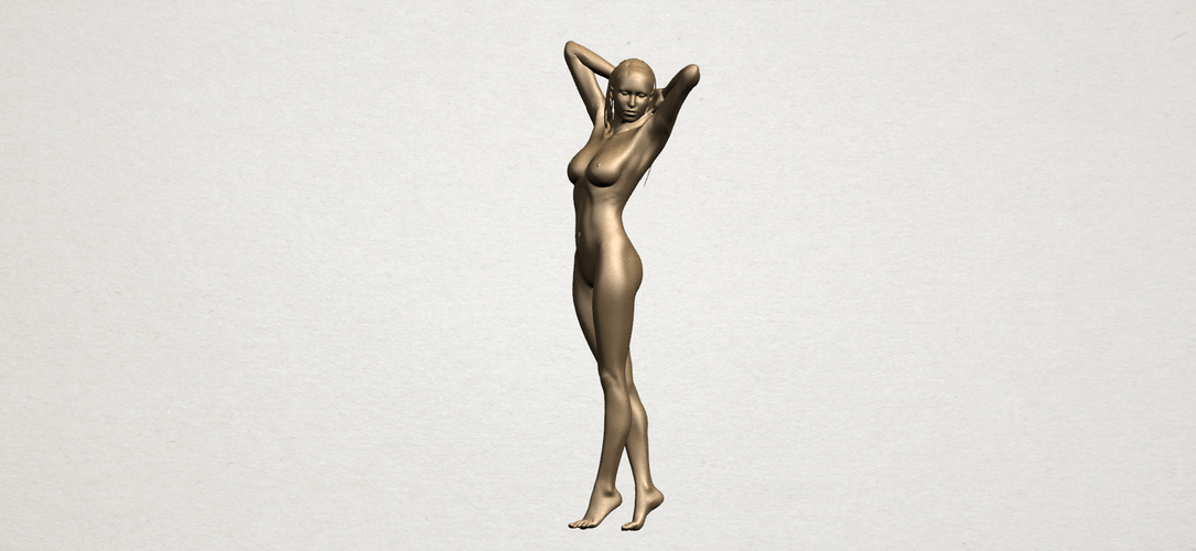 Naked Girl - Full Body 01 3D Print 197264