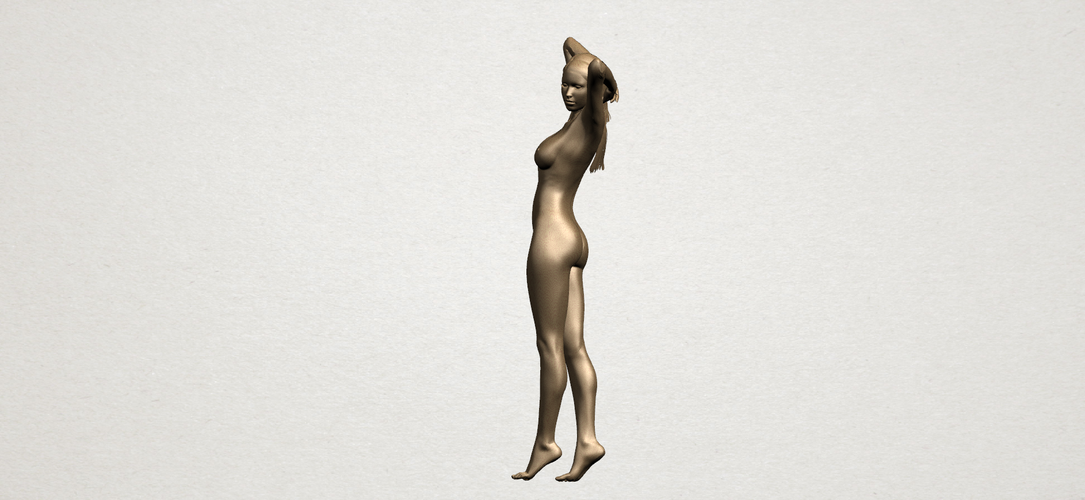 Naked Girl - Full Body 01 3D Print 197265