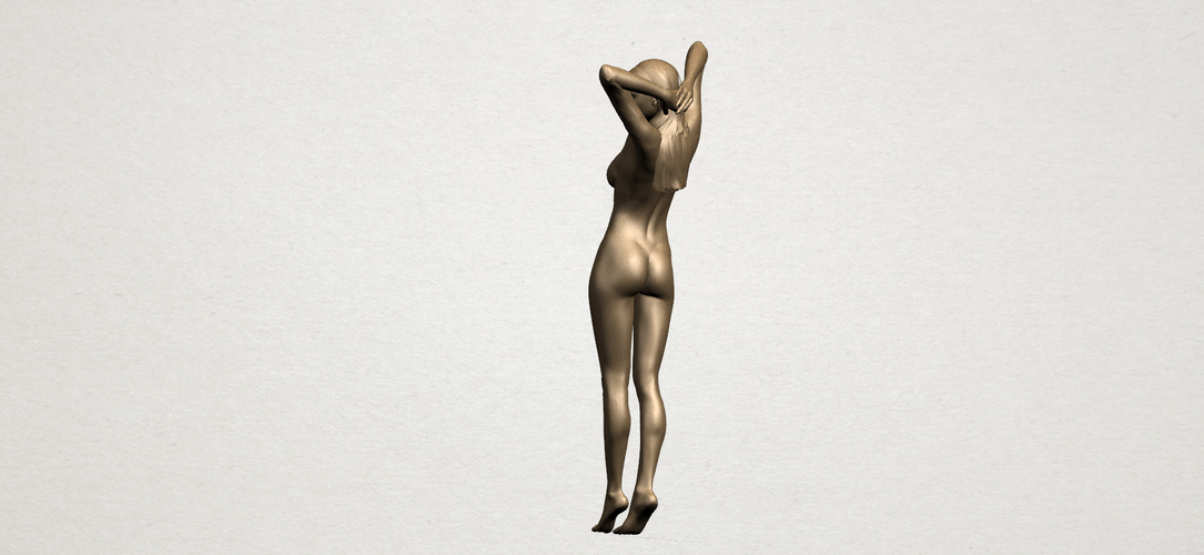 Naked Girl - Full Body 01 3D Print 197266