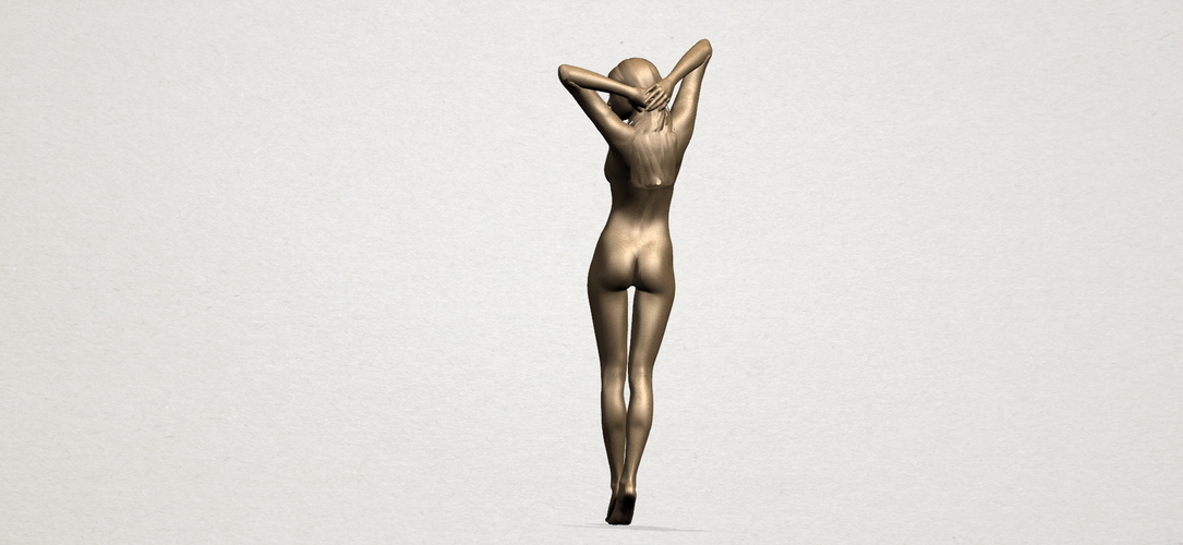 Naked Girl - Full Body 01 3D Print 197267