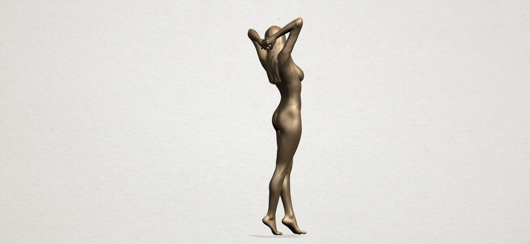 Naked Girl - Full Body 01 3D Print 197268