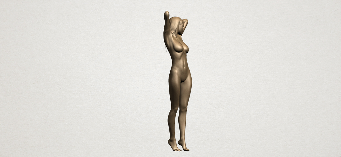 Naked Girl - Full Body 01 3D Print 197269