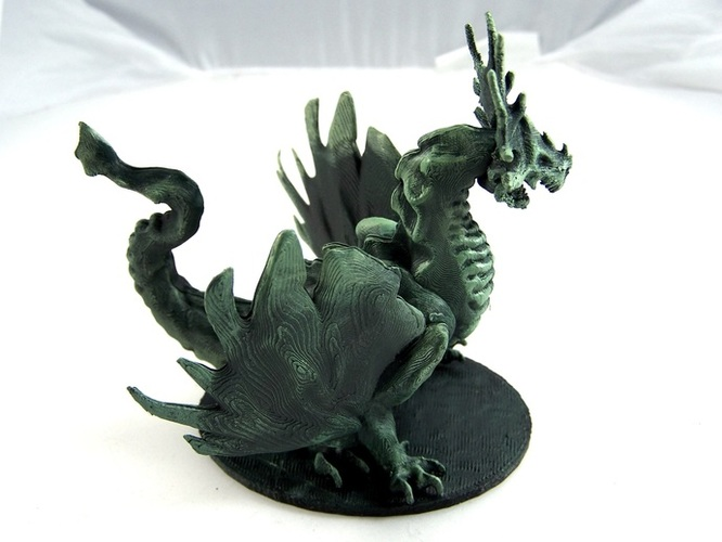 Forest Dragon 3D Print 1973