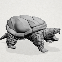 Small Giant tortoise 3D Printing 197381