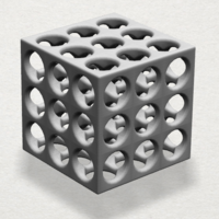 Small Necklaces -Magic Cube 3D Printing 197424