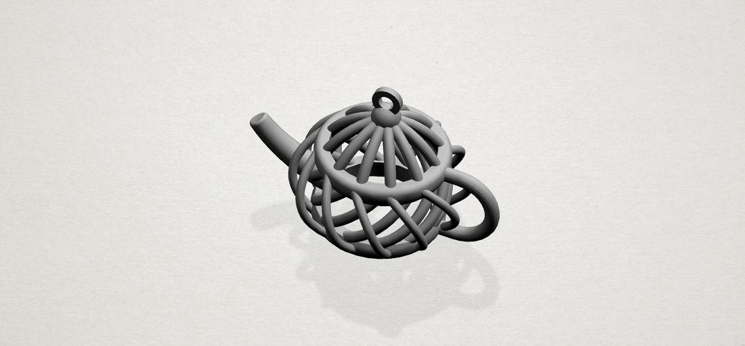 Necklaces -Tea pot 3D Print 197456
