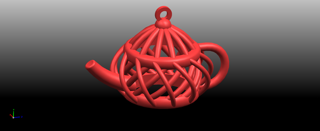 Necklaces -Tea pot 3D Print 197458