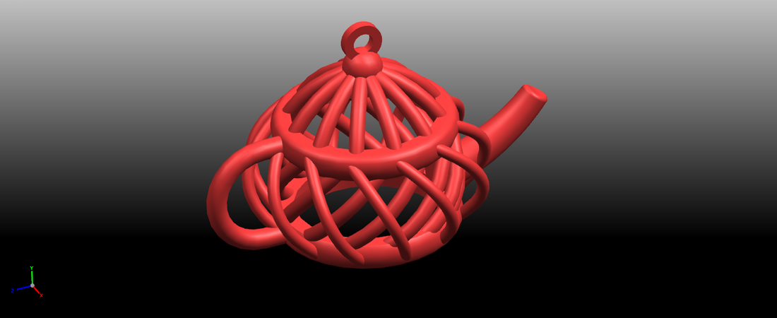 Necklaces -Tea pot 3D Print 197461