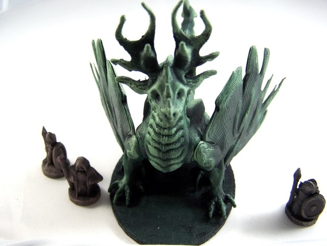 Forest Dragon 3D Print 1975