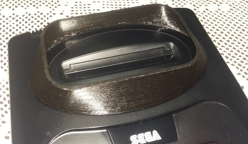 Spacer to Sega Mega Drive II with 32X 3D Print 197506
