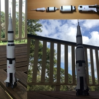 Small Saturn V (most stages)  3D Printing 197570