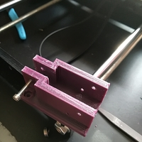 Small belt tensioner Y axis 3D Printing 197662