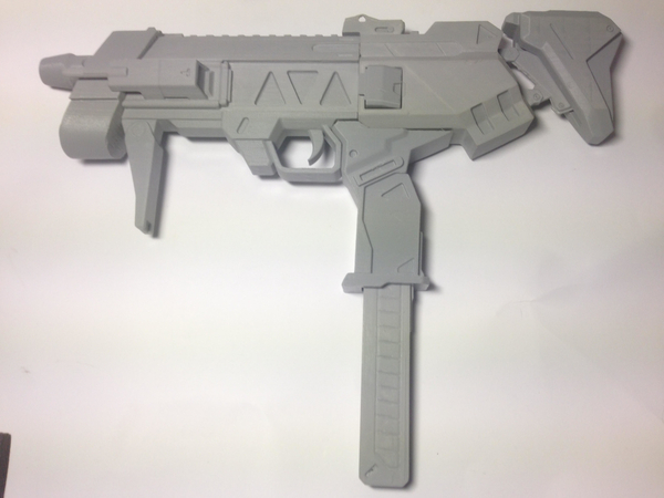 Medium Sombra's Machine Pistol - Overwatch 3D Printing 197665
