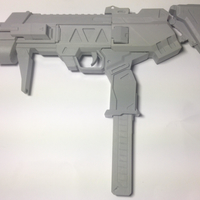 Small Sombra's Machine Pistol - Overwatch 3D Printing 197665