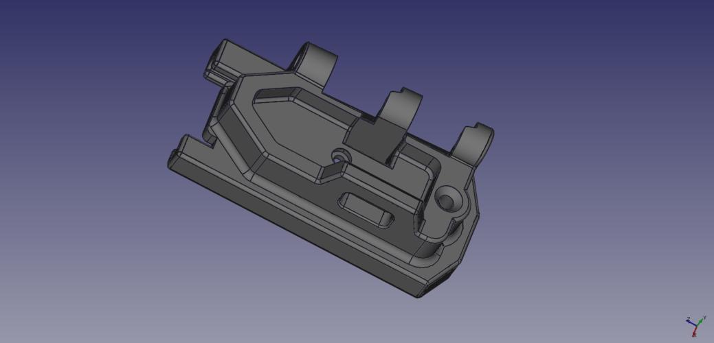 3d Printed Tm Scar Acr Stock Adapter By Sohara Pinshape