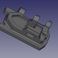 Small TM SCAR-ACR Stock Adapter  3D Printing 197678