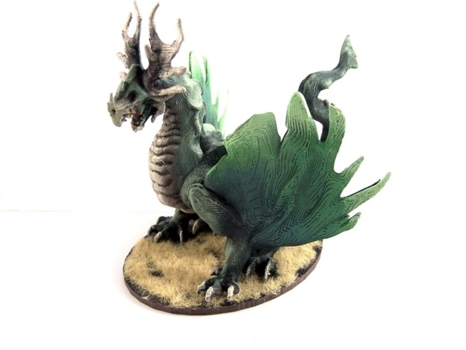 Forest Dragon 3D Print 1977
