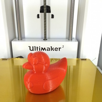 Small Male Valentines Duck 3D Printing 19775
