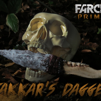 Small Takkar's Dagger - Far Cry Primal - Game Design Contest 3D Printing 197803