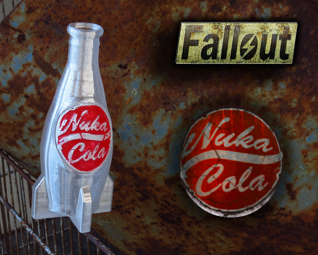 Nuka Cola Bottle – Fallout 4 - Game Design Contest 3D Print 197807