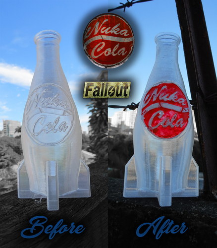 Nuka Cola Bottle – Fallout 4 - Game Design Contest 3D Print 197808