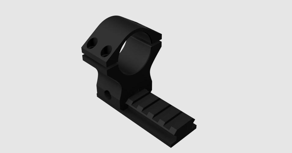 Picatinny Scope Mount Ø30mm 3D Print 197853