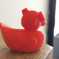 Small Cloud Duck 3D Printing 19787