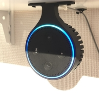 Small Amazon Echo Dot Gen.2 hang mount + Add-On resonance body 3D Printing 197879