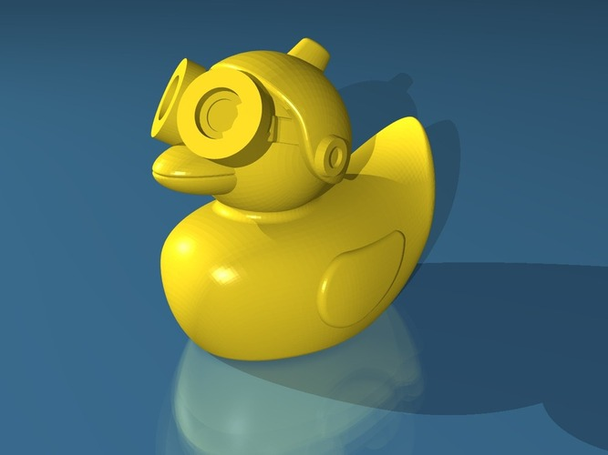 Cloud Duck 3D Print 19789