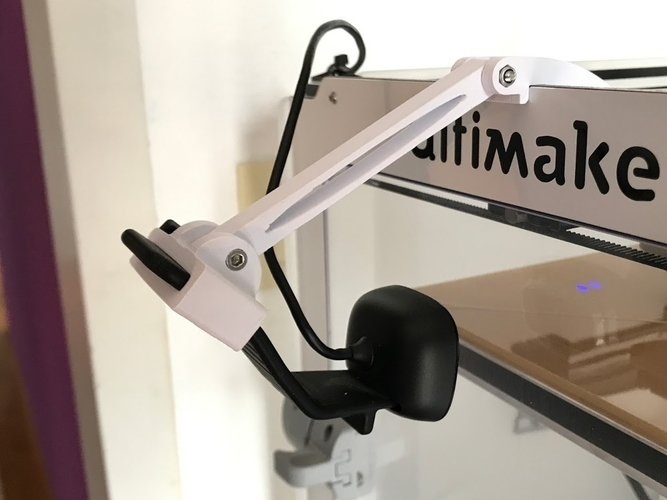 Ultimaker 2 Camera Mount 3D Print 197920
