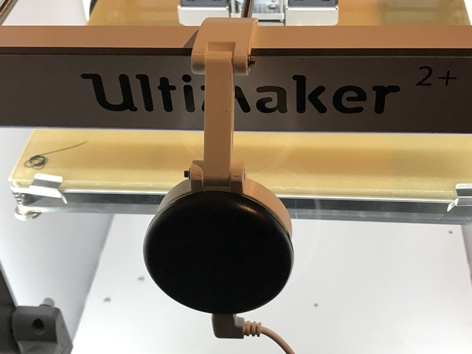 Ultimaker 2 Camera Mount 3D Print 197923