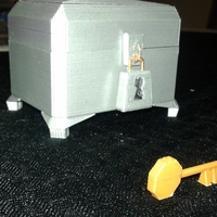 Small Spyro Locked Chest 3D Printing 198034