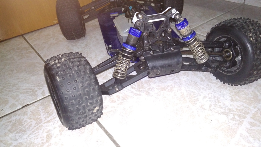 kyosho dbx 1/8 lower front suspension arm  3D Print 198052