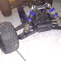 Small kyosho dbx 1/8 lower front suspension arm  3D Printing 198052