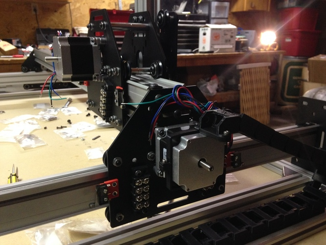 Shapeoko 2 Limit Switch Mounts 3D Print 19823