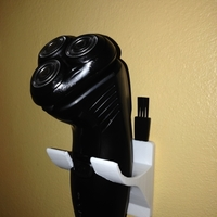 Small Remington R3 Shaving Razor Wall Mount 3D Printing 198283