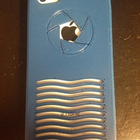Small iPhone 5C Case - Aperture  3D Printing 19829